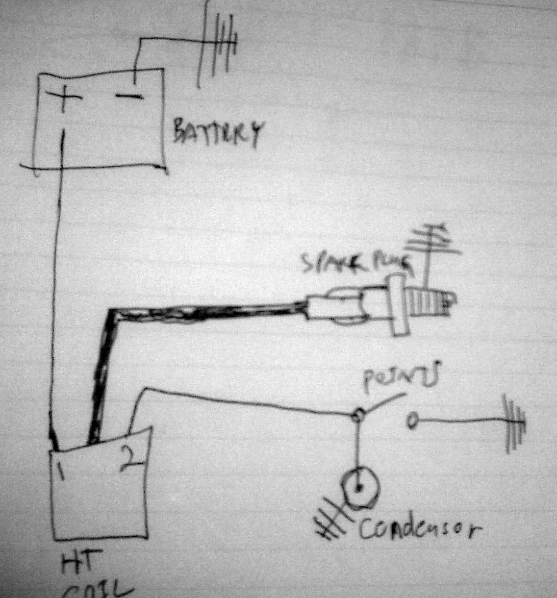 Modern Vespa Spark Question Wiring Diagram Vl1 Make Sure That You Have All Of The Components And Wires In This Picture